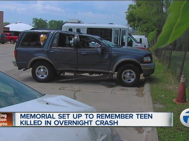 16-Year-Old Killed In Crash, 6 Other Teens Injured